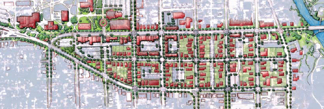 Ypsilanti Development Plan Map